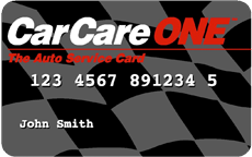 CarCareOne credit card